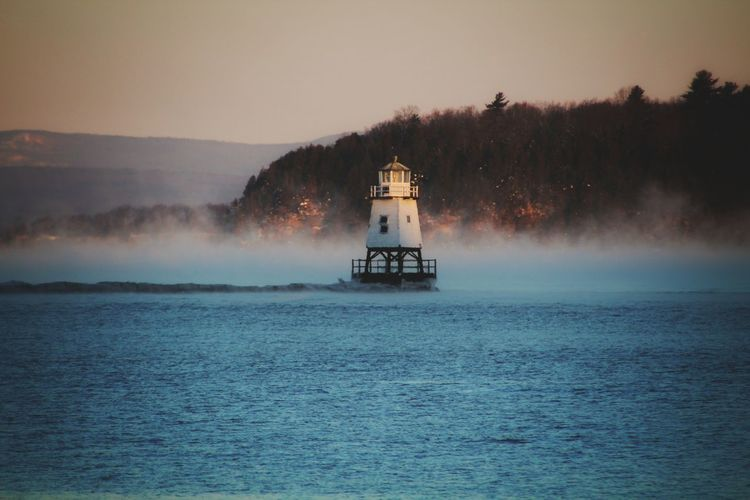 Serene Outdoors Landscape Morning Burlington Burlington VT Vermont New England  Lighthouse Sunrise Beauty In Nature Sky Water Mountain Sunset Agriculture Lake Dawn Landscape Foggy Boat Fog Weather Mist