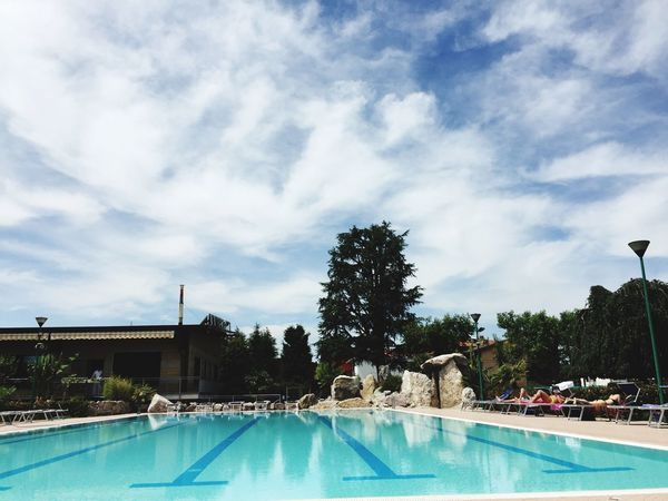Live For The Story 🌏my Life⛩ 🤠my Holidays😎 Swimming Pool Cloud - Sky Relaxing