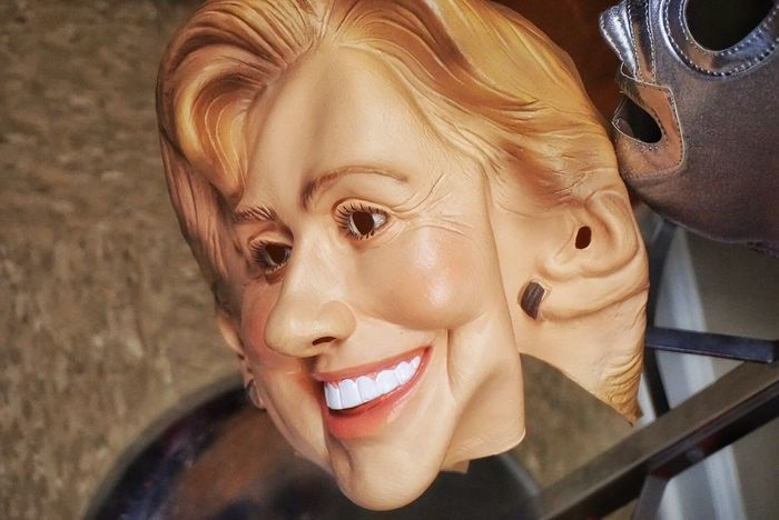 Hillary! Figleafcostumes Huntsvillealabama Hillary Hillaryclinton Mask