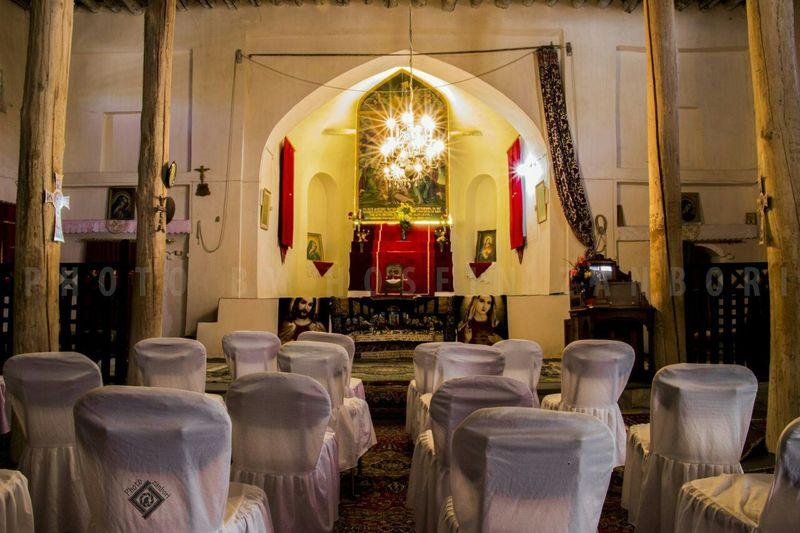 کلیسای غرغن فریدن اصفهان،عکس از حسین زنبوری کلیسا کلیسای سنت استپانوس کلیسای_وانک
