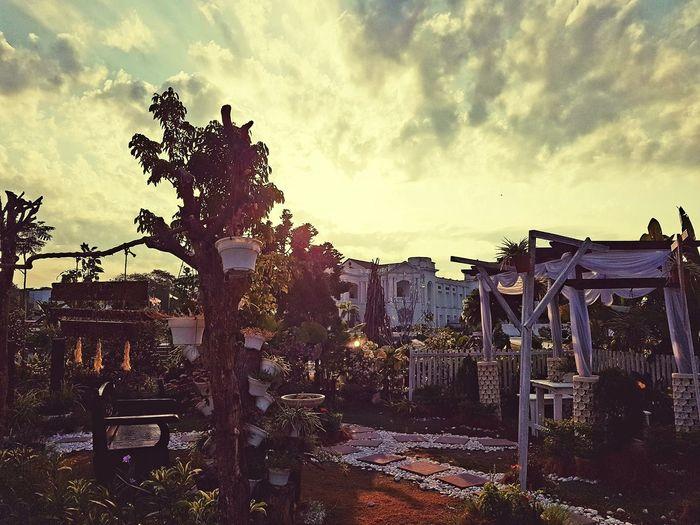 Evening landscape Taking Photos Enjoying Life Historicbuildings Village