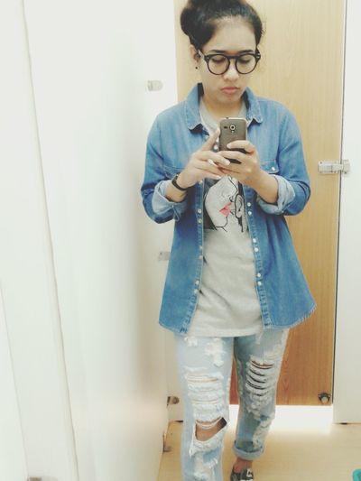 OMG.... im so fat..... Jeans Converse That's Me Self Portrait