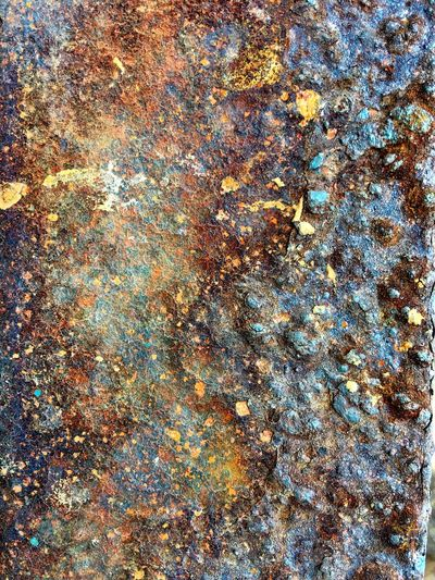 Full frame shot of Rusty texture on metal surface Full Frame Backgrounds Pattern No People Abstract Day Nature Outdoors Beauty In Nature Natural Pattern Textured  Sea Abundance Water Close-up Tranquility White Color Plant