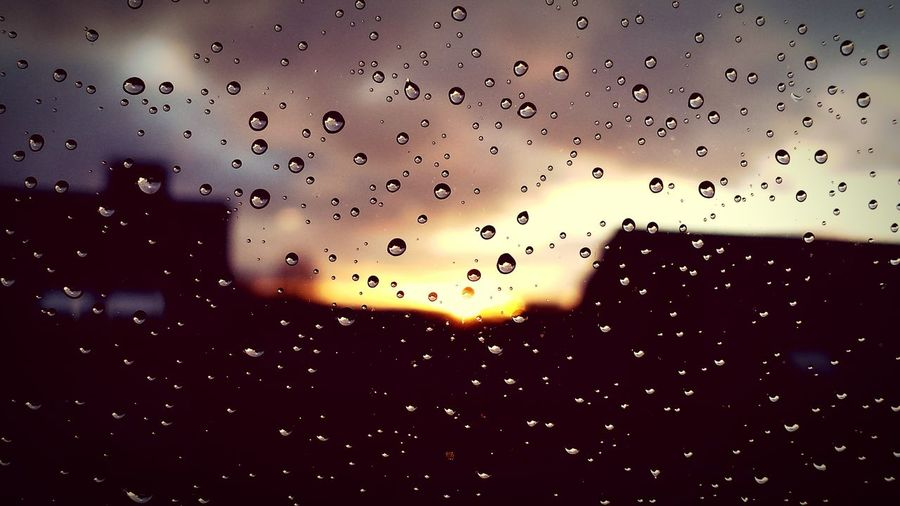Rain Sunset Beautiful