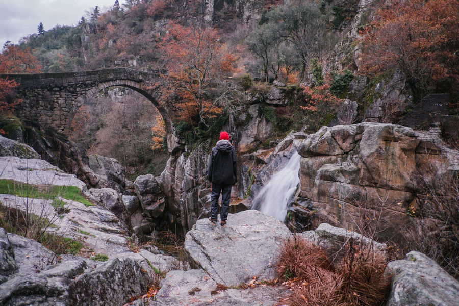 National Park Peneda Geres An Eye For Travel Business Stories Castle EyeEmNewHere FUJIFILM X-T2 Kornspeicher Lindoso Misarela Bridge National Park Nature Peneda-Gerês National Park Ponte De Misarela Portugal Shades Of Winter Adult Adventure Beauty In Nature Bridge Cliff Climbing Day Espigueiros Espigueiros Do Lindoso Explore Fujifilm Full Length Hiking Leisure Activity Men Mountain Nature One Person Outdoors People Real People River Rock - Object Sport Travel Destinations Tree Water Waterfall Women Young Adult