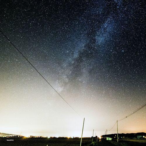 Japan Hokkaido Stars ある夜空
