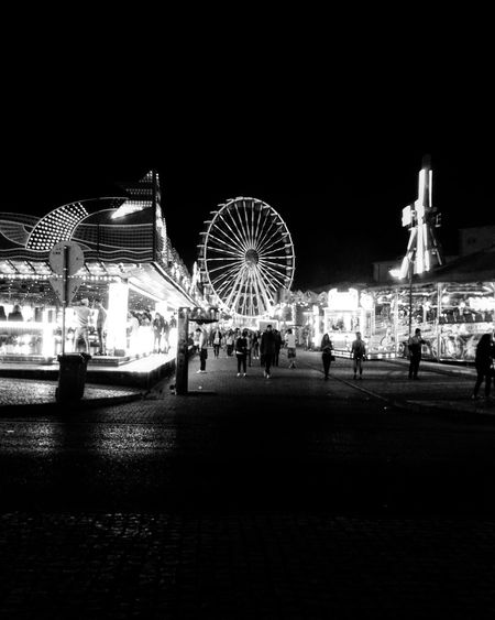 🎡 Ferris Wheel Night Illuminated Big Wheel Blackandwhitephotography Like4like Lights Night Photography Arts Culture And Entertainment EyeEm Best Shots Takeoverinspiration Vscocam Photography Vscofeature Portugalcomefeitos TheWeekOnEyeEM Portugaldenorteasul Gallery_of_bw