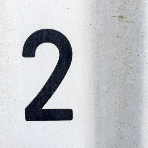 Black number 2 2 Abstract Black Color Close Up Close-up Communication Detail Information Information Sign Number Number 2 Numeral Sign Symbol Text
