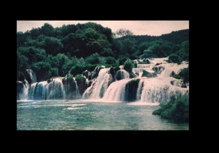 An abundance of waterfalls An Abundance Of Waterfalls Beauty In Nature Day Flowing Flowing Water Landscape Motion No People Non Urban Scene Non-urban Scene Outdoors Rock - Object Rock Formation Scenics Tranquil Scene Tree