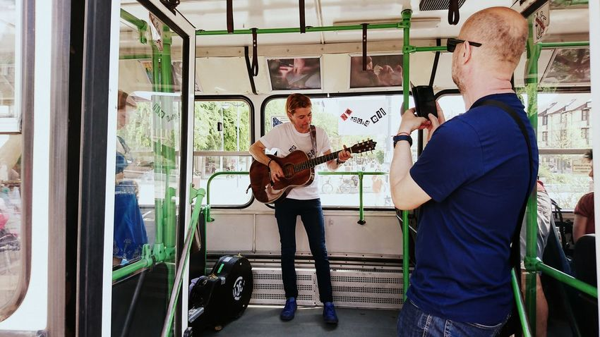 Made by Sony Xperia XZ Szombathely Bus Concert Conversation Culture Culture Bus Exhibition Exhibition Opening Lifestyles Main Square Real People