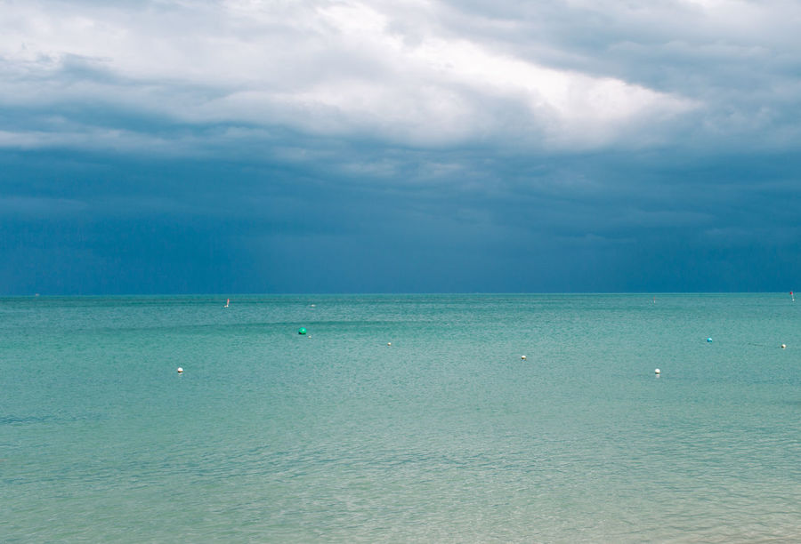 Water Sea Sky Scenics - Nature Cloud - Sky Horizon Over Water Horizon Beauty In Nature Tranquil Scene Tranquility Day Waterfront Blue Nautical Vessel No People Nature Idyllic Outdoors Turquoise Colored Sailboat