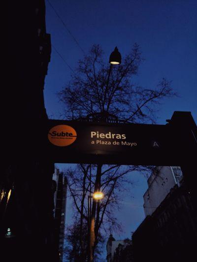 Outdoors Buenos Aires Subwaystation Subterráneos Buenos Aires Subte