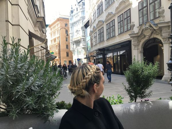 Beautiful Happy Braids Flawless Blonde Taking Photos Enjoying Life Hello World Vienna Having Fun Traveling Eating Food Drinks Fun In Vino Veritas Mamma Mia