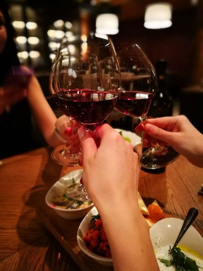 Wineglass Delicious ♡ Friends ❤ Only Women First Eyeem Photo Red Wine Night