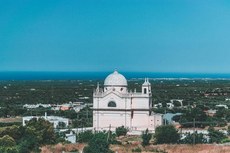 Scenic view of puglia