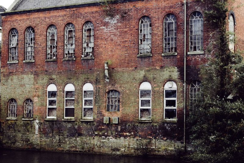 Part of the Old Huntley and Palmers factory in Reading Abandoned & Derelict Derelict Building Reading_uk Architecture Details Architecture_collection EyeEm_abandonment Bricks