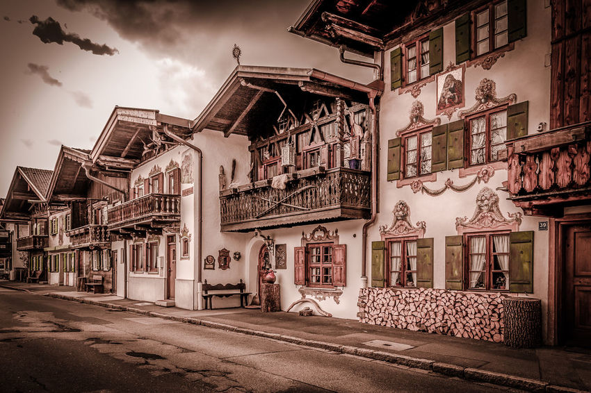 traditional houses Built Structure Architecture No People Building Exterior Sky Outdoors Day EyeEm Ready
