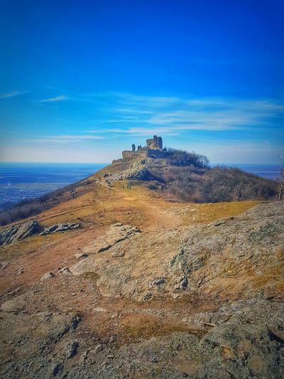 Landscape Nature Outdoors Sky Day Beauty In Nature Romanian Lands Romania Romanianbeauties Cetatea Siria Cetate Castle Walls Ruins Ruined Castle Ruined Walls Old Old Building  Old Architecture Places To Visit Autumn Autumn Colors Sky And Clouds
