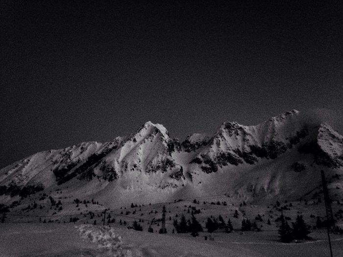 Skiing Black And White Passo Tonale Around The World By Lufthansa