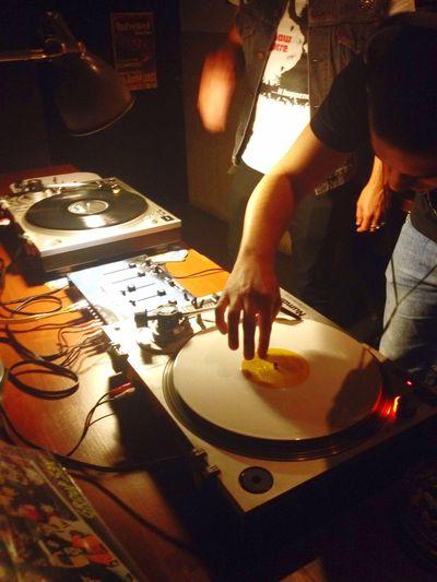 David Sabino e Miguel Roque no Bar Bafo De Baco Vinyl Vinyl Only