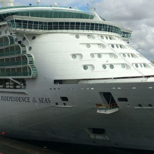 """Independece of the seas"" Relaxing Going Sailing Ship Cruise Ship"