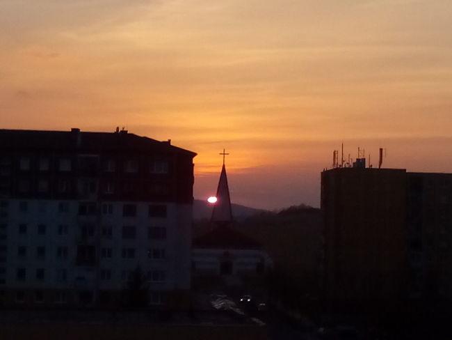 Sunset BARDEJOV Slovensko Welcome To Black