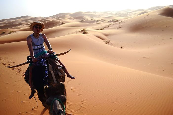 Sahara Desert Morocco Camels Camel Sahara Merzouga MoroccoTrip Deserts Around The World Desert EyeEmNewHere Sand Sand Dune Desert Riding One Person Arid Climate Outdoors Nature Day Domestic Animals Adventure Adult Be. Ready.