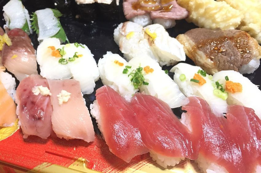 Sushi Japanese Food Seafood Food And Drink Food Healthy Eating Sashimi  Ready-to-eat Rice - Food Staple No People Freshness Indoors  Fish Close-up Day Food Stories