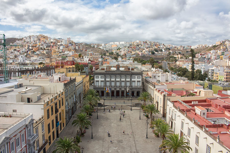 View from Cathedral de Santa Ana Architecture City Cityscape Day Gran Canaria Las Palmas Las Palmas De Gran Canaria Travel Destinations Urban Skyline Build Structure Building Structures Famous Place Built Structure Building Exterior