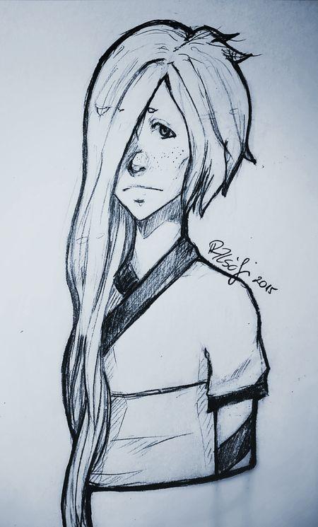 Drawing Art, Drawing, Creativity Mechanical Pencil Anime Mangaart