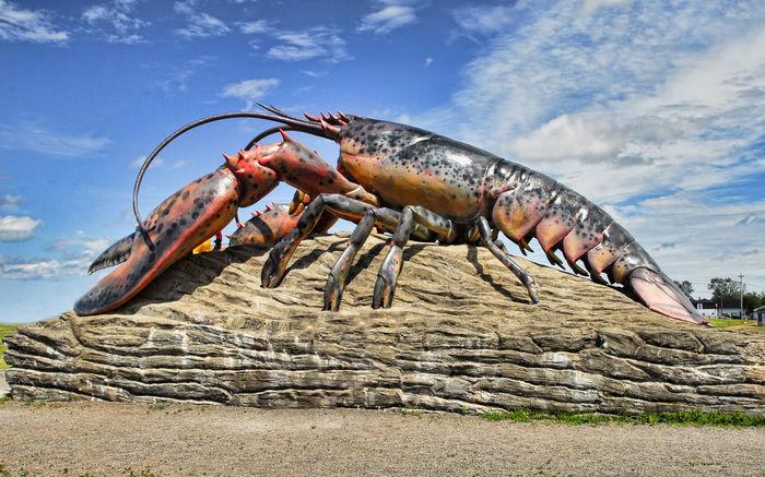 Cloud - Sky Largest Lobster New Brunswick, Canada No People Seafood Shediac Shediac Big Lobster