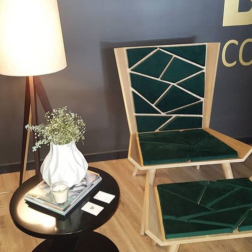 Emeraldgreen needs no introductions. Coffee Lounge by MariaVilhenaDesign @casaportodesignhouse CasaPorto2015 Readingcorner