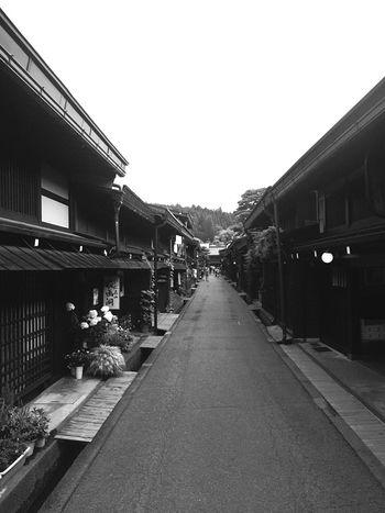 Japanese Architecture Blackandwhite Machiya