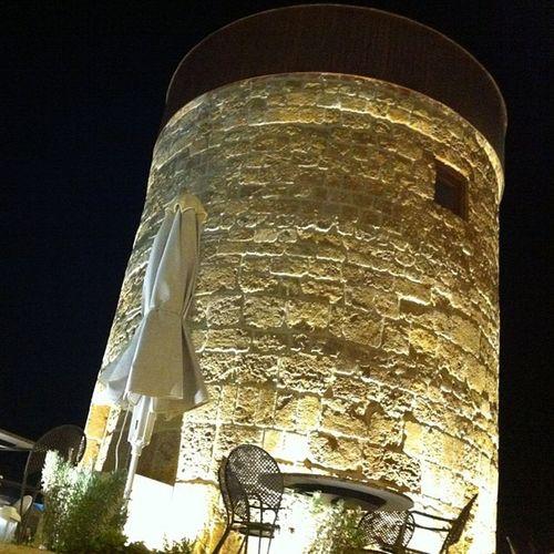 Rhodes Greece Summer 2013 Night Mill