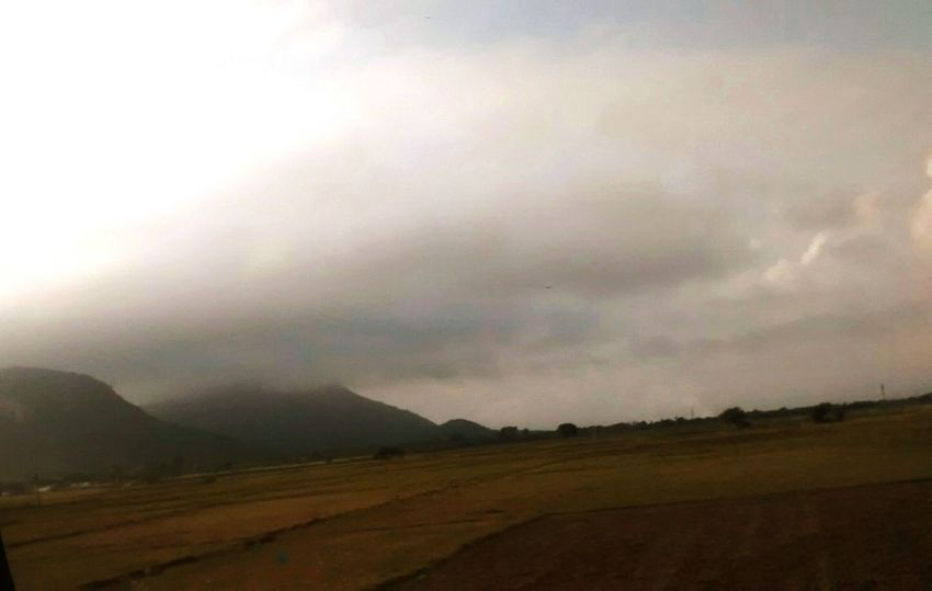 Storm Weather Rain Scenics Landscape Thunderstorm Nature Cloud - Sky Storm Cloud No People Sky Outdoors Dramatic Sky Mountain Ominous Rural Scene Beauty In Nature Day