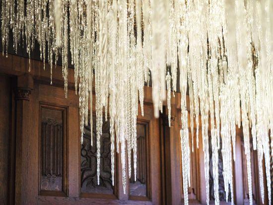 Glass Hanging Sound Sculpture Architecture Built Structure