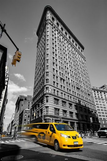 NYC Life Mode Of Transportation Architecture Transportation Car City Taxi Motor Vehicle Travel Destinations Yellow Taxi Street Travel