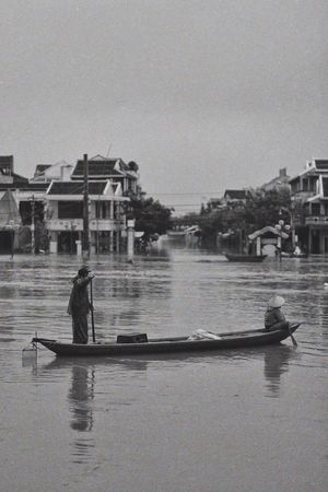 Flooding Building Exterior Architecture Water Built Structure Real People Nautical Vessel Mode Of Transport Outdoors Reflection Waterfront One Person Transportation Lifestyles Day Sky Tree Men Nature Hoian  Hoi An Traveling Home For The Holidays