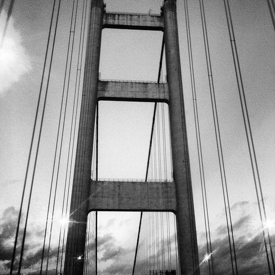 On the way to the airport Morning Fucku Bridge Hk