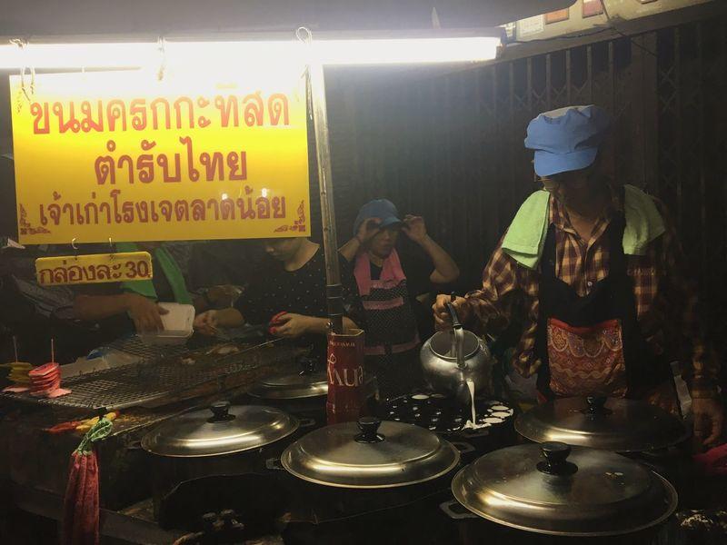 Thai desserts Thailand Street Foods