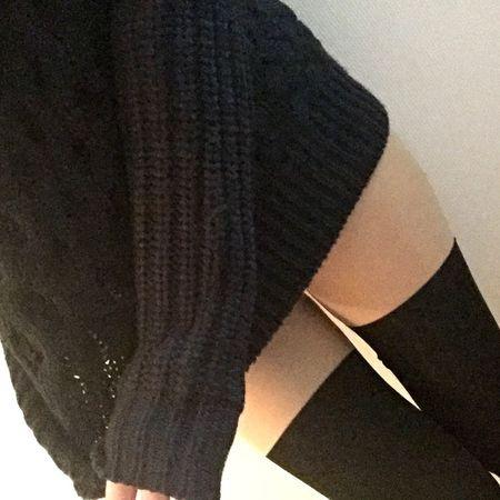 あったかニットにニーソ Fashion Commedesgarcons Knit Sox Winter Legs
