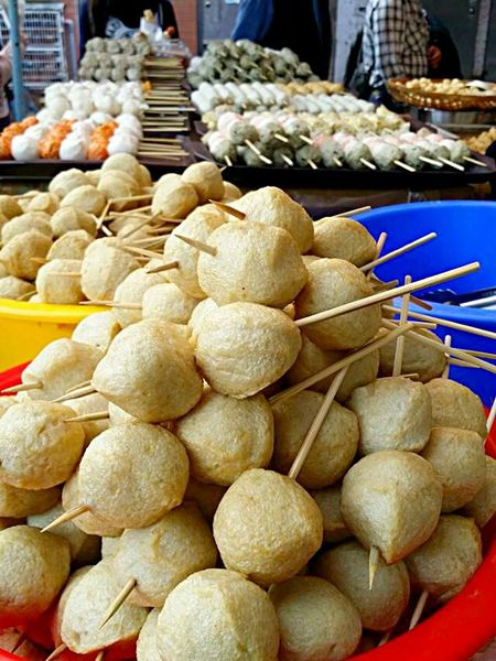 Skewers of fishballs! Fish Ball Street Food Check This Out Food Porn