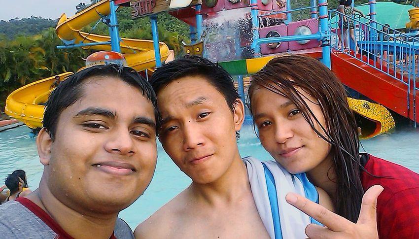 Hanging Out Having Fun at a Water Park. People Of EyeEm Faces Of EyeEm Selfie ✌ Open Edit