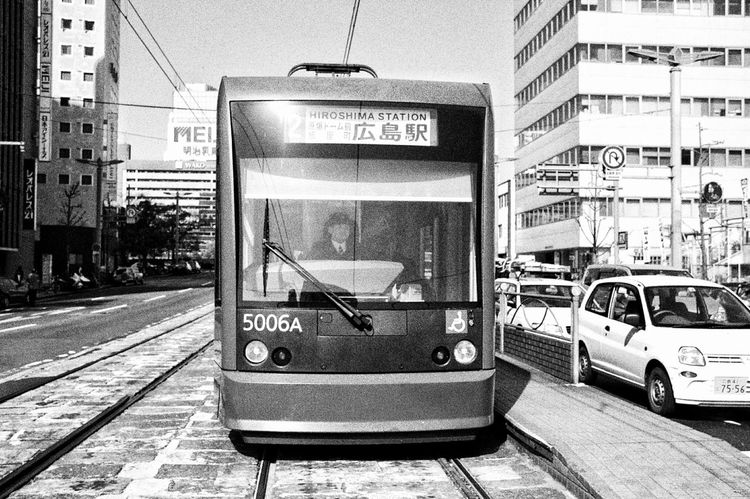 Tram Tramway Tramtrack Tracks Public Transportation Mode Of Transport Daily Life Daily Commute Urban Lifestyle Urban Geometry Taking Photos From My Point Of View On The Streets Streetphotography Hiroshima-shi