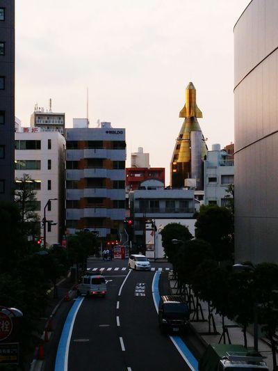 Architecture Rocket Urban Landscape What? Discovering New Places