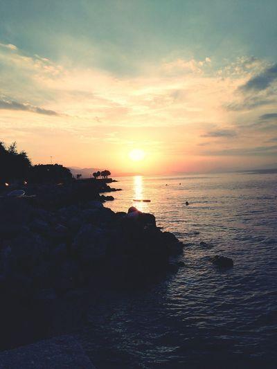 Sunset Beautiful Sunset Sunsetphotographs Enjoying The Sunset Sunsetcollection EyeEm Sunset Summer Summercollection Greece
