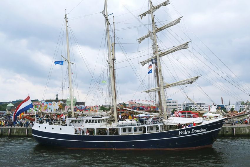Hansesail in Warnemuende and Rostock 2016. Sailing boats from all over world meeting here for that yearly event. Boat Day HanseSail Hansesail 2016 Harbor Harbor Harbor View Mast Mode Of Transport Nautical Vessel Outdoors Rostock Rostock 2016 Rostocker Hafen Rostocker Stadthafen Sailboat Sailing Sailing Boat Sailing Boats Sailing Ship Ship Sky Water Waterfront