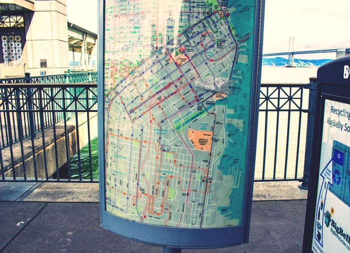 Kiosk Map City Map City Guide Tourist Tourism Travel Trip Destination