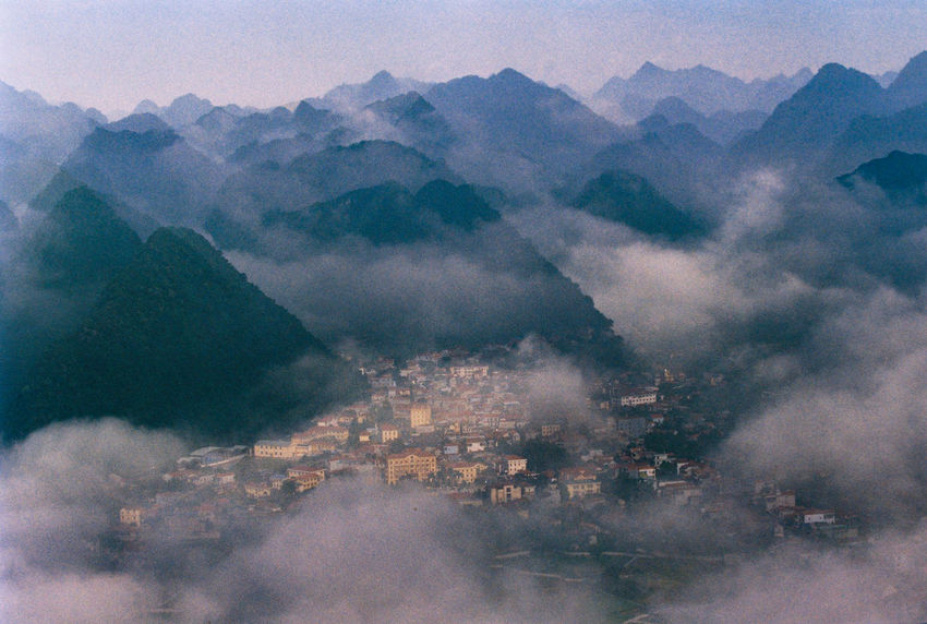 TT Bac Son Film Vietnamese Beauty In Nature Film Photography Fog Landscape Mountain Mountain Range Nature Scenics