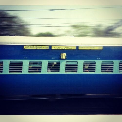Here the original CHENNAI EXPRESS spotted from the running mumbai local around Dadar jn. Lol Chennaiexpress Local Arriving Motion movingtrain fastshoot train real_chennaiexpress Amazing photooftheday instagood instaexpress photoholic instastyle railstyle centralrailway railshoot instarail instafun